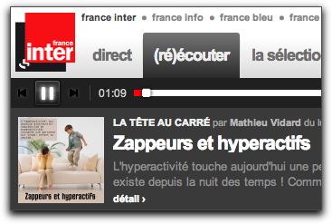"""L'émission """"La Tête au Carré"""" consacrée aux Zappeurs le 4 décembre 2013"""